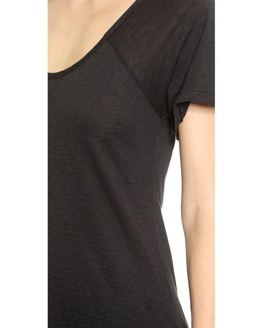 Sundry | Black Short Sleeve Raglan Tee | Lyst