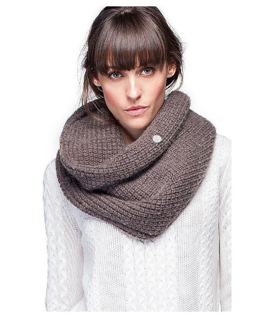 Noel Asmar Eternity Scarf In Brown Cappuccino Lyst