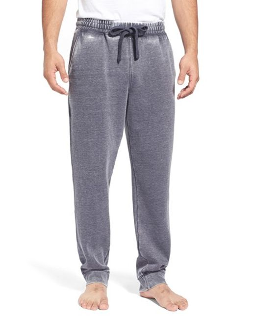 Daniel Buchler | Blue Washed Cotton Blend Lounge Pants for Men | Lyst
