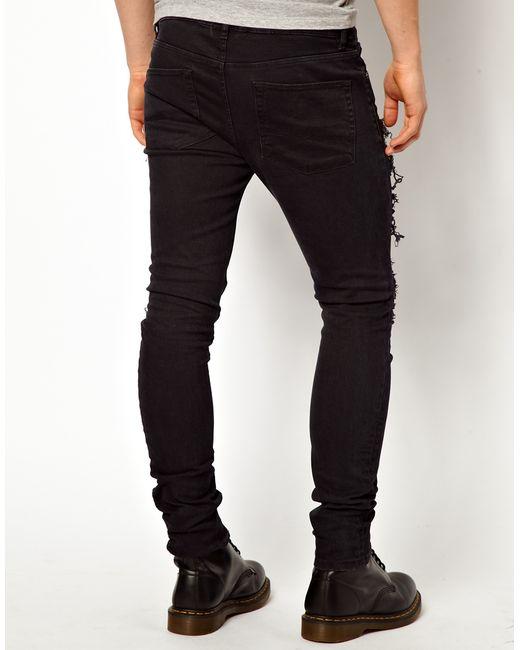 Asos super skinny black jeans
