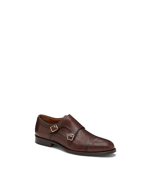 Vince Camuto | Brown Briant - Double-monk-strap Shoe | Lyst