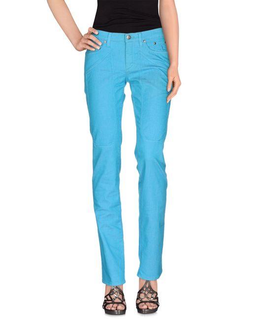 Jeckerson | Blue Denim Pants | Lyst
