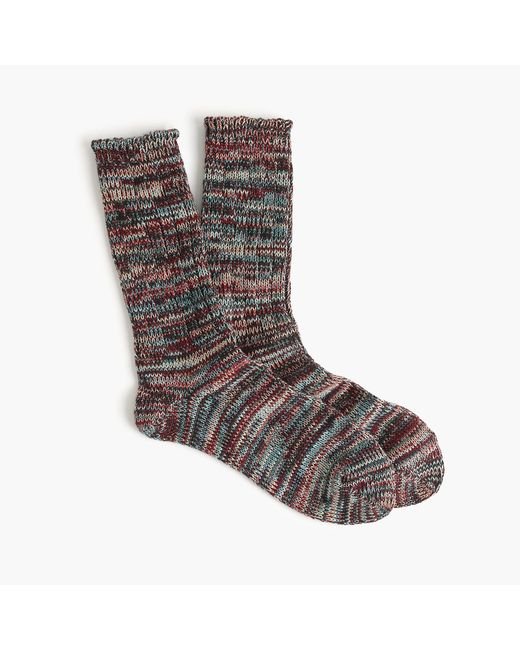 Anonymous Ism | Purple Multicolored Socks for Men | Lyst