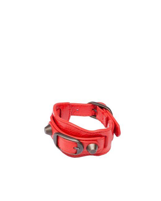 Balenciaga   Red Classic Bracelet   Lyst