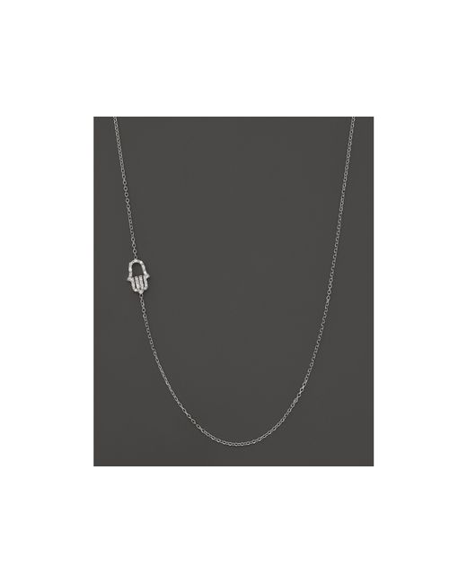 KC Designs | Diamond Hamsa Necklace In 14k White Gold, .07 Ct. T.w. | Lyst