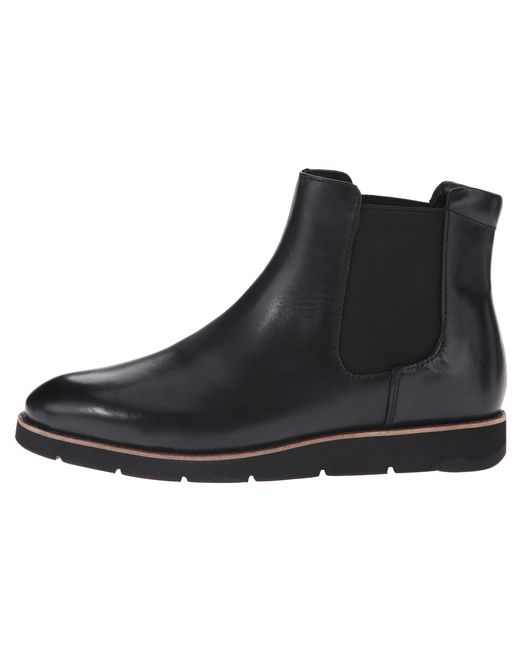Johnston & Murphy | Black Bree Gore Ankle Boot | Lyst