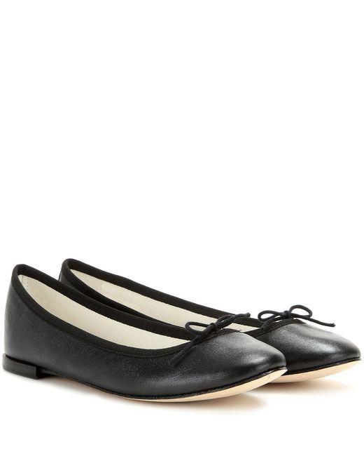 Repetto | Black 'cendrillon' Ballerinas | Lyst