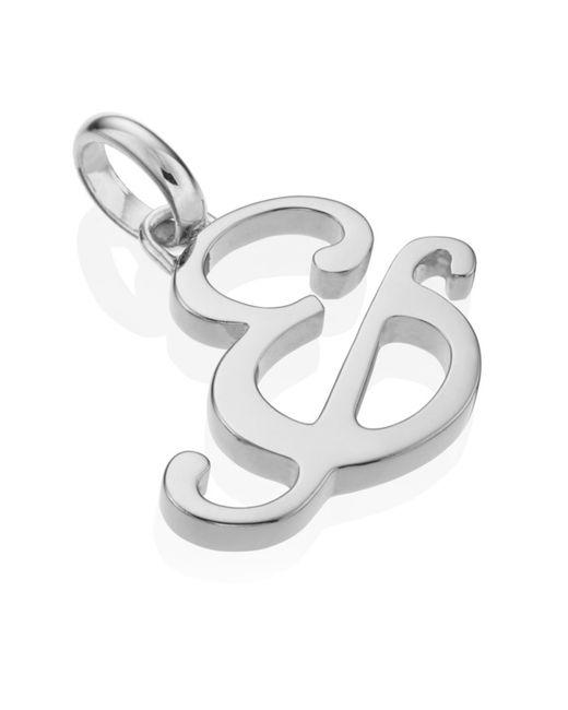 Monica Vinader   Metallic Alphabet Pendant &   Lyst