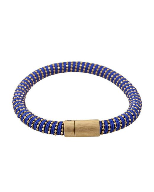 Carolina Bucci | Metallic 'twister' Beaded Band Bracelet | Lyst