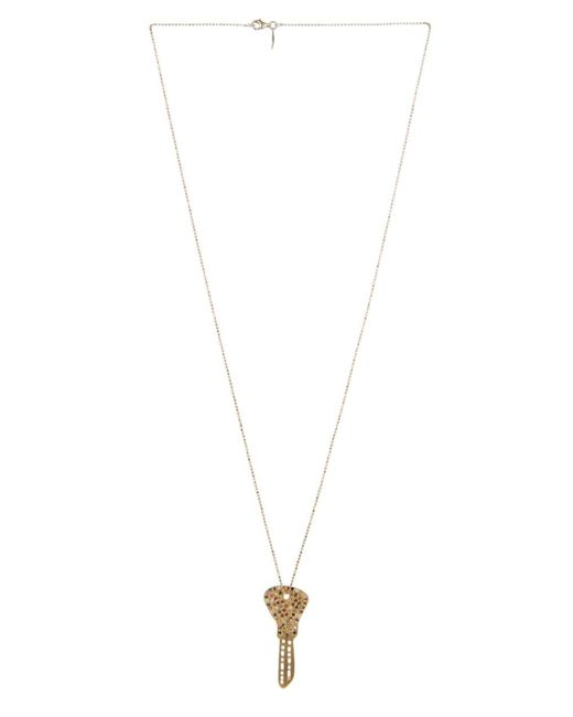 Carolina Bucci | Diamond, Sapphire & Yellow-Gold Necklace | Lyst