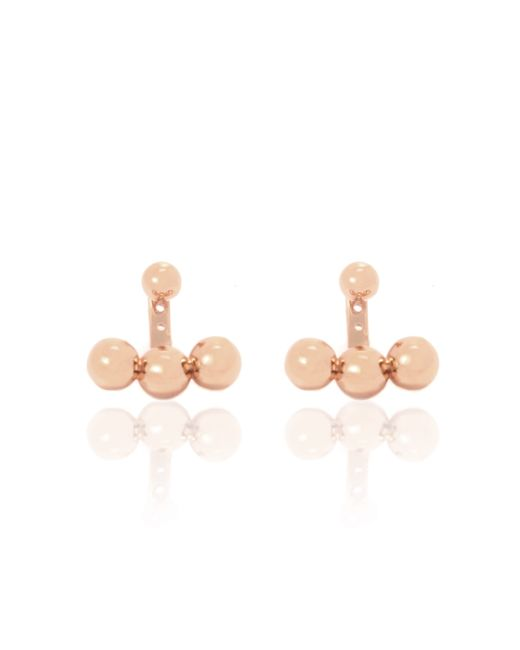 Arme De L'Amour | Pink Anchor Earrings | Lyst