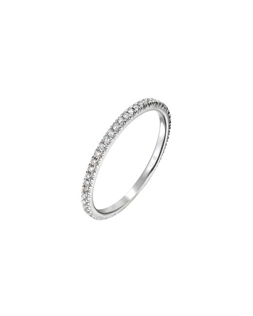 Demitasse | Metallic Micro Pave Ring | Lyst