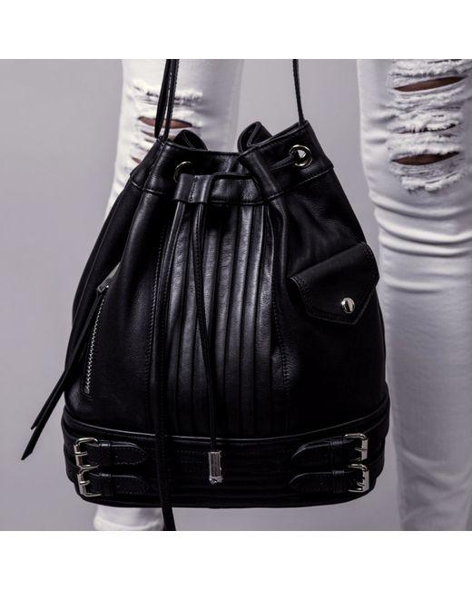 Linea Pelle | Gray Rowan Bucket Bag | Lyst