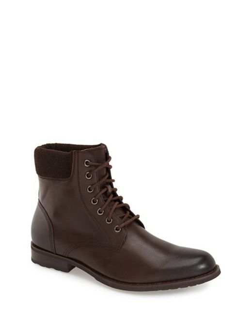 Joe's Jeans | Brown 'blake' Plain Toe Boot for Men | Lyst