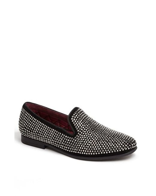 Steve Madden | Metallic 'caviarr' Slip-on for Men | Lyst