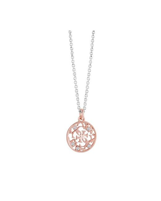 Guess | Pink Jasmine Necklace | Lyst