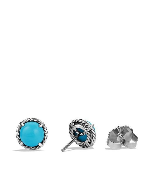 David Yurman | Blue Chatelaine Earrings With Turquoise | Lyst