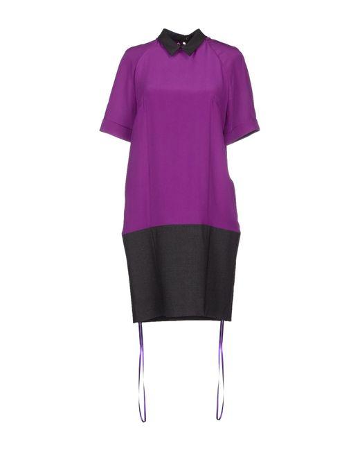 Space Style Concept | Purple Short Dress | Lyst