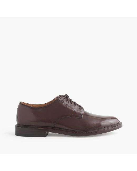 J.Crew | Brown Ludlow Derbys for Men | Lyst