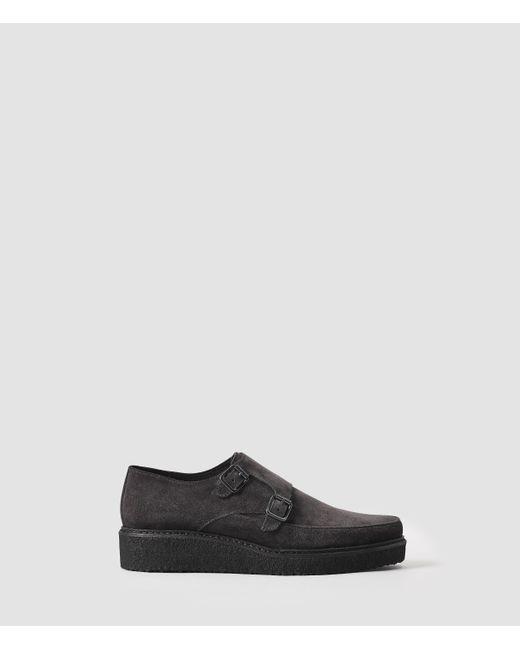 AllSaints | Gray Alias Shoe for Men | Lyst