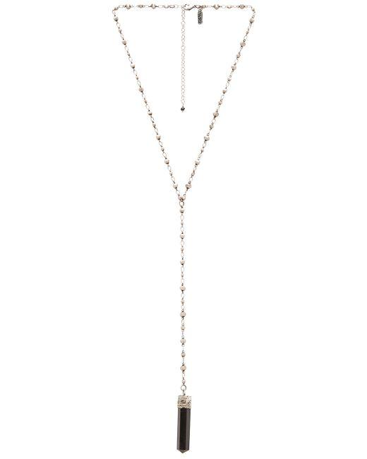Natalie B. Jewelry   Metallic Crystalized Necklace   Lyst