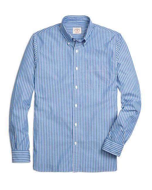Brooks Brothers | Blue Stripe Sport Shirt for Men | Lyst