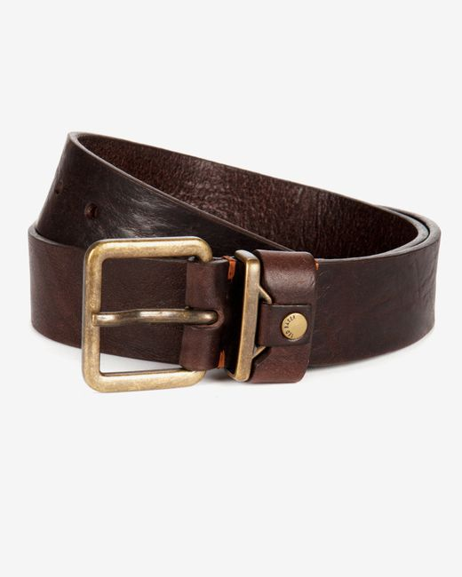 Ted Baker | Brown Leather Belt for Men | Lyst