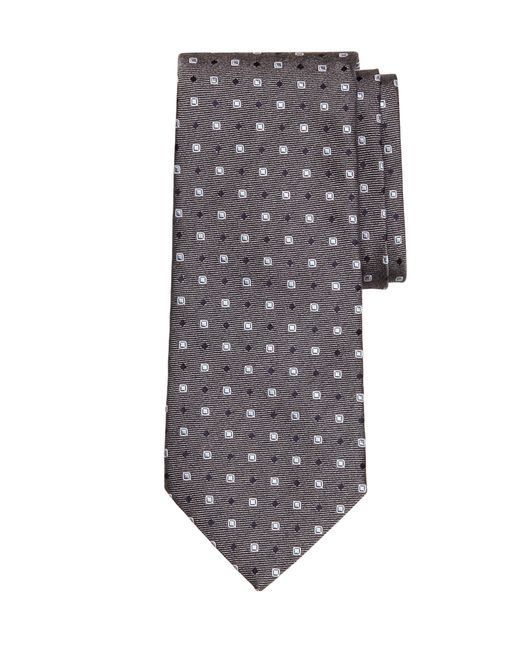 Brooks Brothers | Gray Framed Square And Dot Tie for Men | Lyst