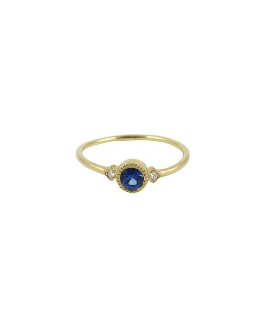 Jennie Kwon | Blue Sapphire Sotto Voce Ring | Lyst