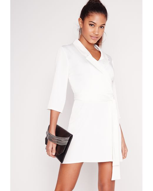 Blazer Dresses. Look the business in our range of boss girl blazer dresses to slay your and beyond. The ultimate in workwear dressing, shop everything from slick blazer dresses in soft satin fabrics, or embrace all things power dressing in our range of 80's inspired tuxedo dresses.
