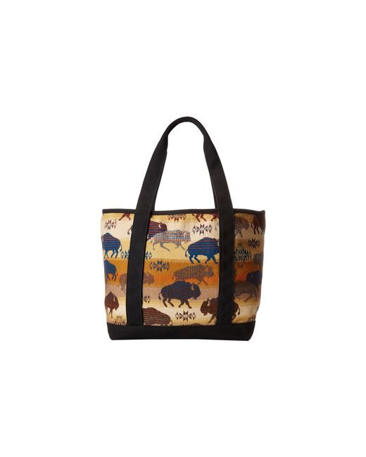 Pendleton | Brown Large Canvas Tote | Lyst