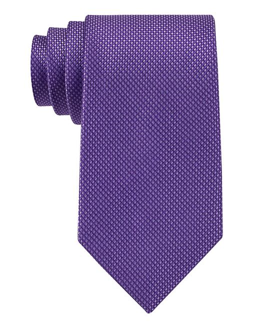 MICHAEL Michael Kors | Purple Chainlinks Tie for Men | Lyst