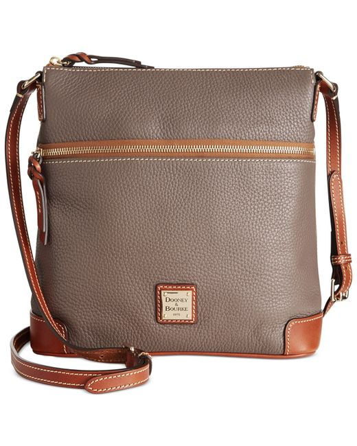 Dooney & Bourke | Gray Pebble Crossbody | Lyst