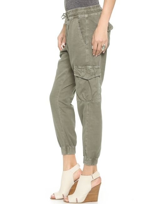 NSF | Green Johnny Cargo Pants | Lyst
