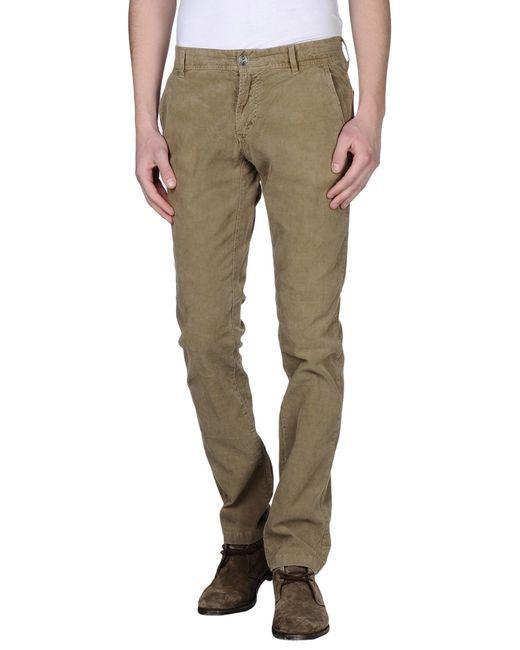 GAUDI | Natural Casual Pants for Men | Lyst