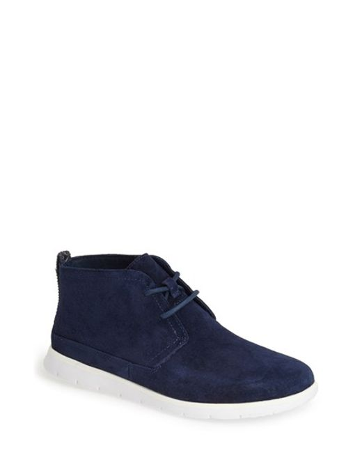 UGG | Blue Ugg 'freamon' Suede Chukka Boot for Men | Lyst