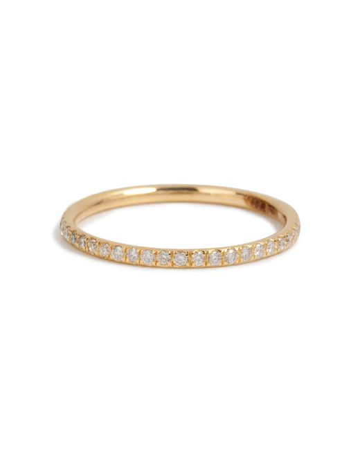 Ileana Makri | 18k Yellow Gold Ring With Diamonds | Lyst