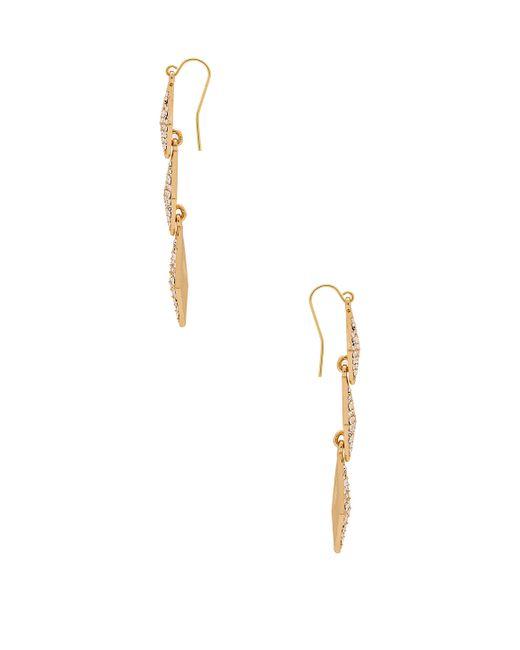 Lisa Freede | Metallic Stella Earrings | Lyst