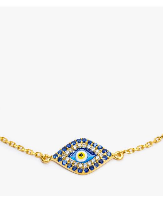 Azalea   Pink Big Eye Bracelet   Lyst