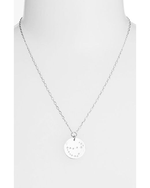 Ija | Metallic 'large Zodiac' Sterling Silver Necklace | Lyst
