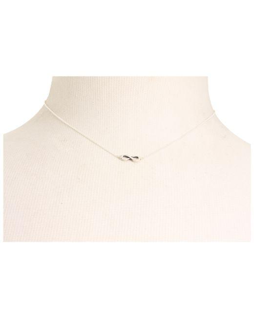 "Dogeared | Metallic Infinite Love Necklace 16"" | Lyst"