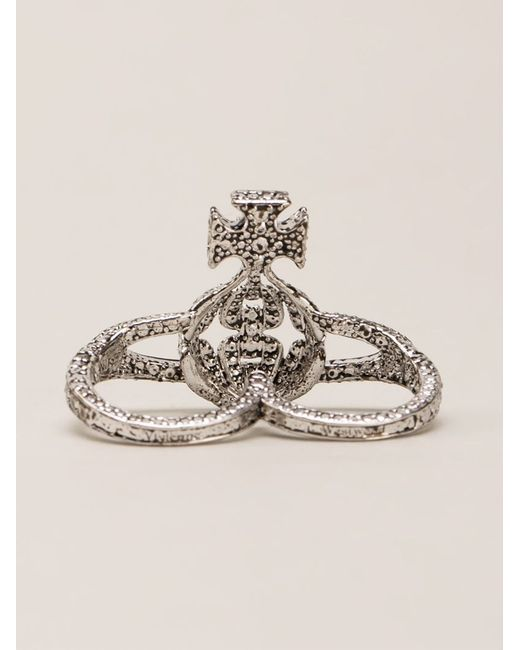 Vivienne Westwood Anglomania | Metallic 'radha' Ring | Lyst