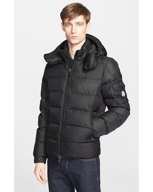 Moncler | Black 'Himalaya' Hooded Down Jacket for Men | Lyst