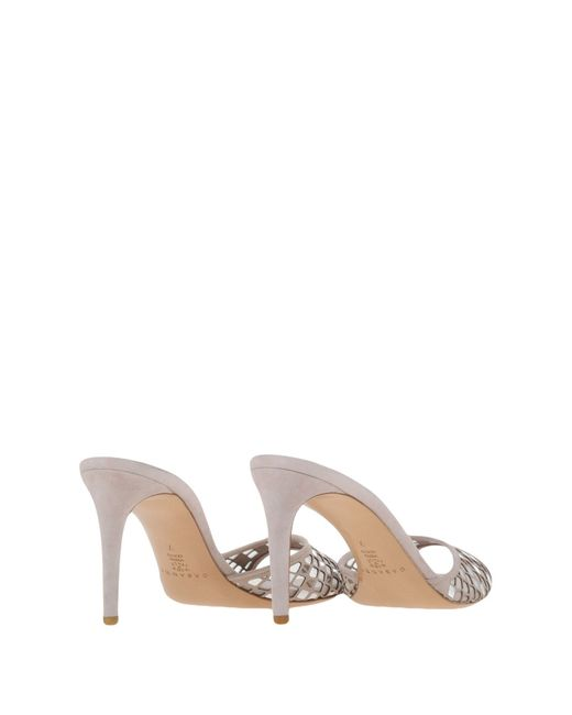 Casadei | Natural Sandals | Lyst