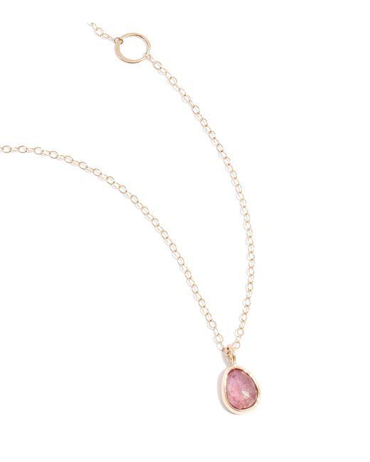 Melissa Joy Manning | Pink Sapphire Necklace | Lyst