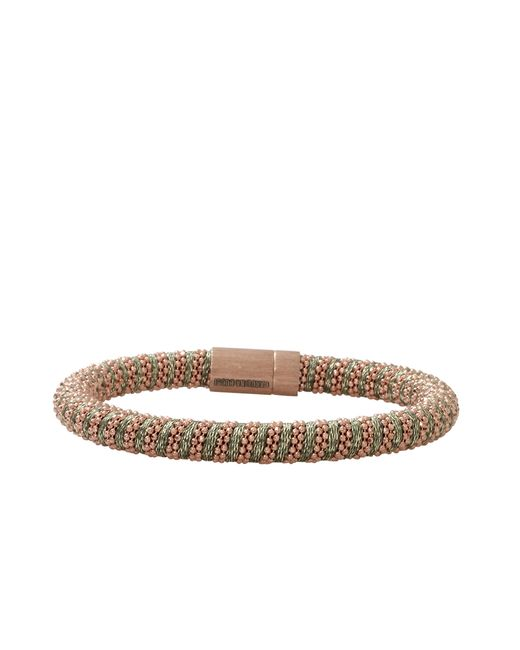Carolina Bucci | Natural Leaf Sparkle Twister Band Bracelet | Lyst