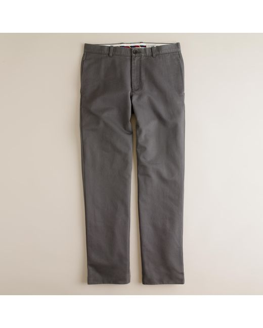 J.Crew | Gray Essential Chino In 770 Fit for Men | Lyst