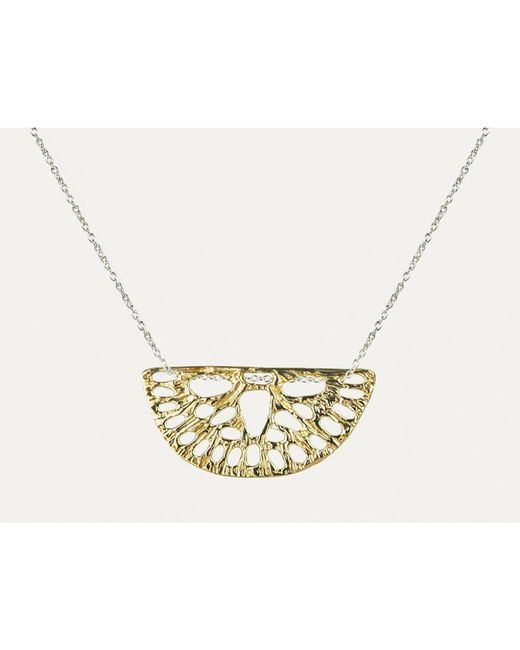 Odette New York | Metallic Small Amuletum Necklace | Lyst