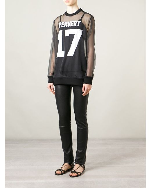givenchy pervert 17 t shirt in black save 65 lyst. Black Bedroom Furniture Sets. Home Design Ideas