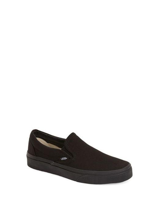 Vans | Black Classic Sneaker | Lyst